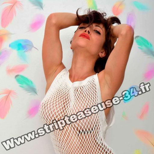 Stripteaseuse agde hérault cap d'agde